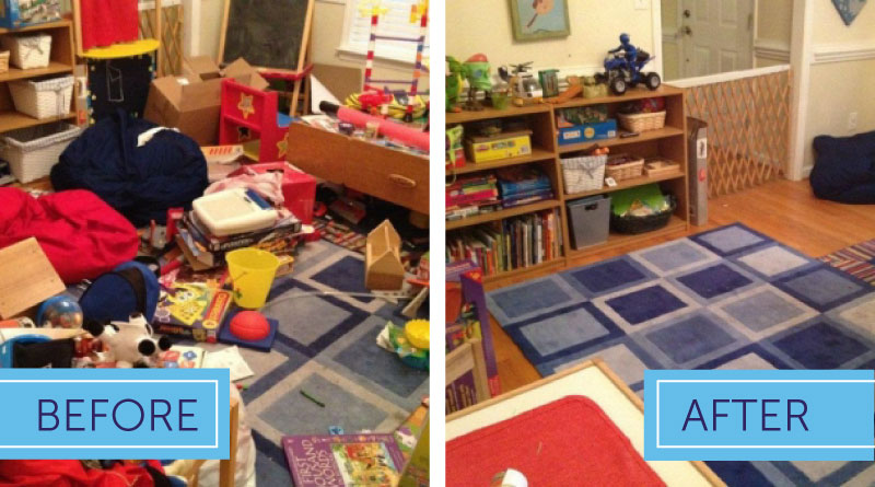 Child S Playroom Organized And Tidy Order In The House
