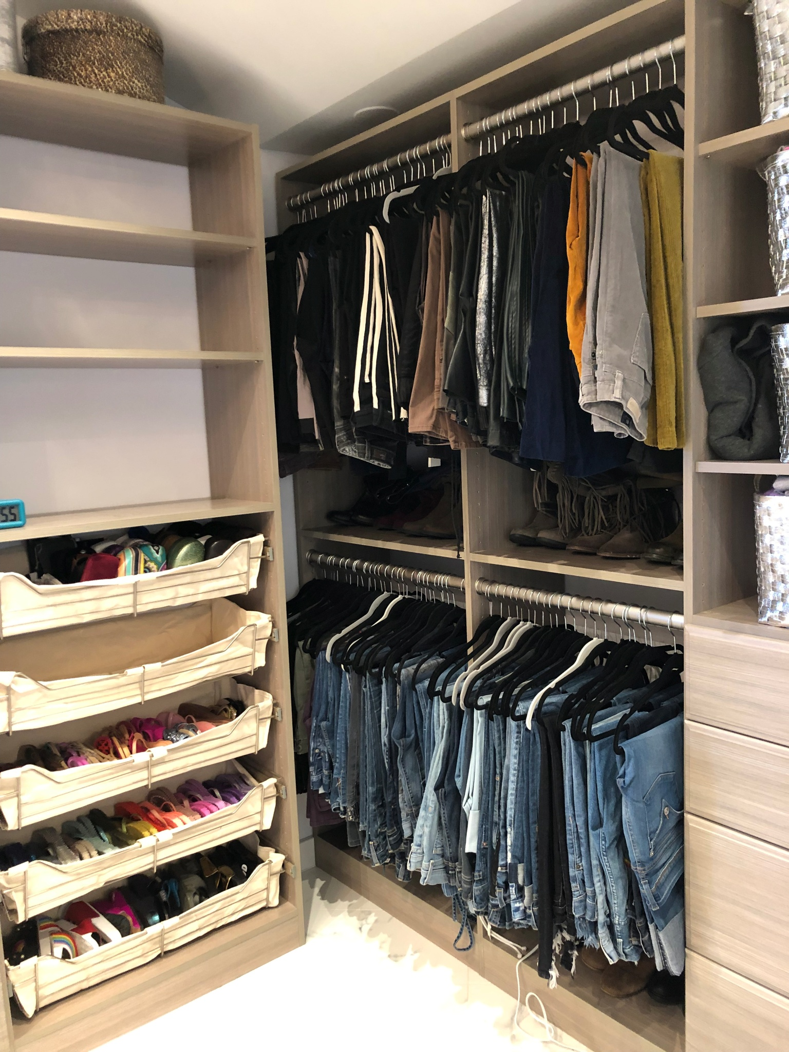 Two Beautiful And Organized Master Closets Order In The